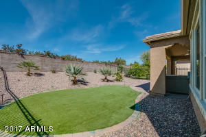 Beautiful turf area with complete backyard fencing!