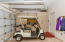 2.5 car garage and golf cart is available outside escrow