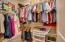 Huge walk-in closet.