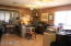 Large office, billiards room, game room...lots of options!
