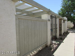 Desirable end unit with side yard for BBQ and pet.