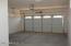 Upgraded garage doors