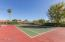 One of many tennis courts.