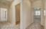 Hallway Leads to Bedrooms and Bath