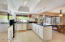 Large and open kitchen is great for family gatherings and holiday dinners