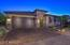 Custom circular tiled driveway and front porch