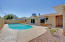 Low maintenance landscaping throughout the property gives you all the time in the world to enjoy your pool.