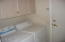 THE INSIDE UTILITY ROOM ALSO HAS UPPER CABINETS FOR STORAGE. WASHER/DRYER INCLUDED.
