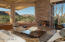 Stone Fireplace, Wall To Wall Windows, Hidden Pocket Door To Outdoor Entertaining