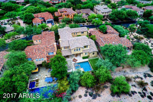 Aerial of Backyard