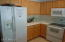 Refrigerator, Stove and Microwave are included.