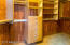 Master cedar walk in closet