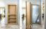 Secret door to basement