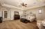 Luxurious Master Bedroom.