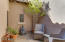 Great courtyard off of kitchen that is perfect for your morning coffee.
