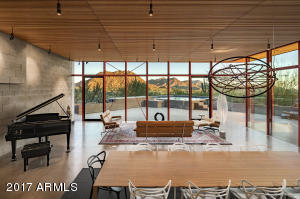 Panoramic mountain views from great room & kitchen