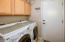 Laundry room w Cabinets