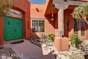 Private Courtyard Entry with Patio