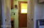 From kitchen to back door