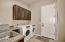 Laundry Room with Sink and More Cabinetry