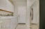 LAUNDRY ROOM WITH EXTRA SS REFRIGERATOR AND W/D INCLUDED!