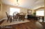 Formal Dining/Living Room - with Gorgeous Hardwood floors
