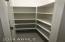 Spacious kitchen pantry