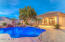 Casita with full kitchen, sitting area with fireplace, bedroom and bathroom