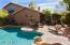 Pebble tec pool and spa, features gas heating