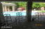 VIEW from HUGE covered patio of gazebo, gas FP, gas firepit, numerous seating areas. Can even host a wedding or other event.