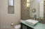 Beautiful downstairs fully remodeled Powder Room