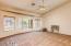 Master bedroom (split floor plan)