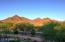 Sunset on McDowell Mountains