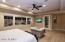 HUGE MATER SUITE OVERLOOKS POOL,EXIT TO PATIO. IN A PRIVATE WING