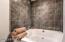 Huge soaking tub!