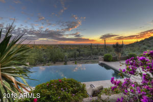 Pool View- Sunset