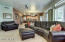 Family room with full theater system!