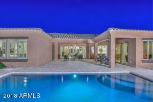 You will love this L shaped Covered Patio & Salt Water Pool