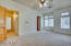Master suite boasts en suite, huge walk in closet, and private balcony!