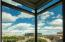 """NE view from master bedroom creates a dramatic natural """"painting"""" each new day!"""