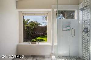 Shower renovated in March 2019.