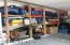 GARAGE - BUILT IN STORAGE SHELVING