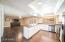 Stainless appliances and LED lighting
