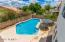 Over-sized pool for fun summer gatherings!