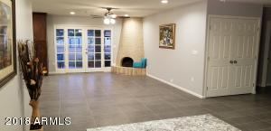 Open floor plan. Spacious single level home with no steps. All tile. Easy care and durable.