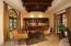 GUEST HOUSE LIVING AREA, KITCHEN, GAS FIREPLACE, 3/4 BATH