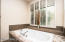 Remodeled Master bath with Plantation shutters