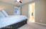 Upstairs 3rd Bedroom with Huge Walk in Closet and Bathroom Access
