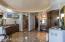 Radiant heated marble floors & towel warming drawer.