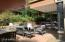 Check out what this gorgeous patio looks like furnished!